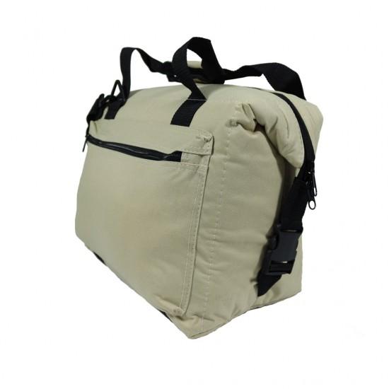 DuffelGear Khaki Cooler 12pack by dufflebags