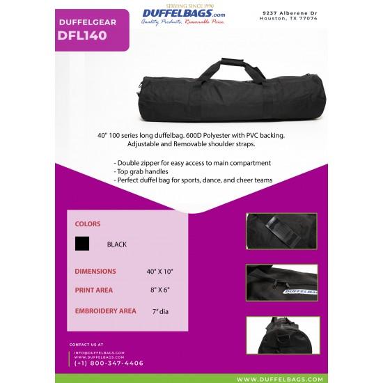 "DuffelGear 100 Series 40"" Roll Duffel by Duffelbags.com"