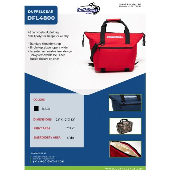 DuffelGear 48 Pack Cooler by dufflebags