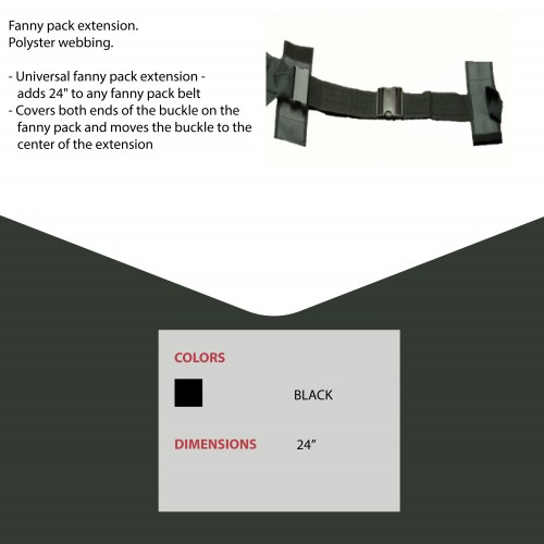 Fanny Pack Extension