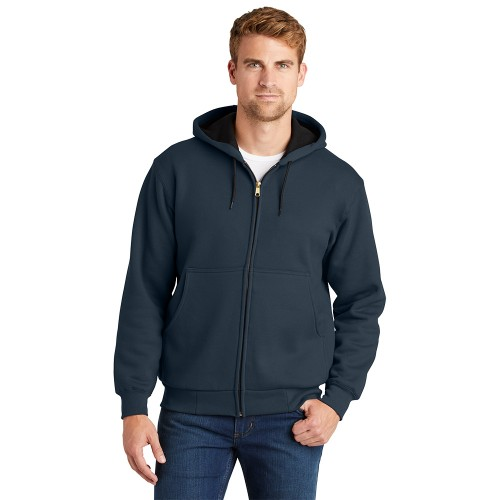 CornerStone® - Heavyweight Full-Zip Hooded Sweatshirt with Thermal Lining