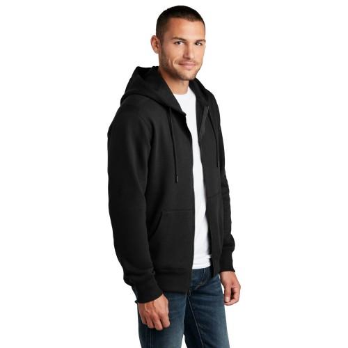 District® Perfect Weight® Fleece Full-Zip Hoodie