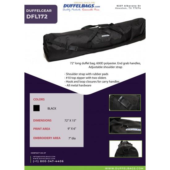 "DuffelGear 100 Series 72"" Long Duffel by dufflebags"