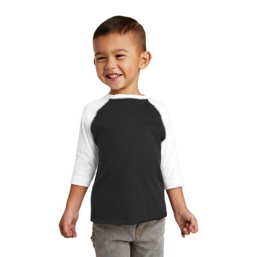 Rabbit Skins™ Toddler Baseball Fine Jersey Tee