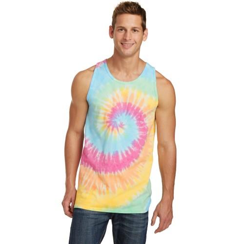 Port & Company® Tie-Dye Tank Top