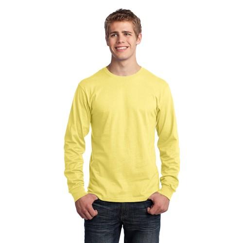 Port & Company® Long Sleeve Core Cotton Tee