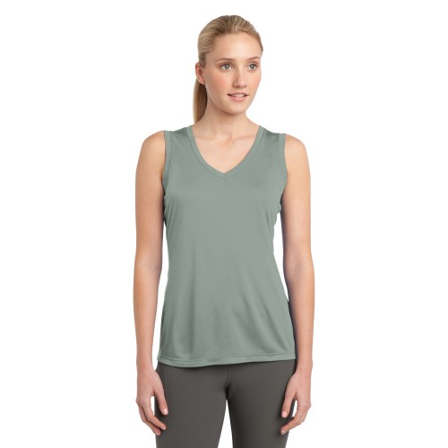 Sport-Tek® Ladies Sleeveless PosiCharge® Competitor™ V-Neck T