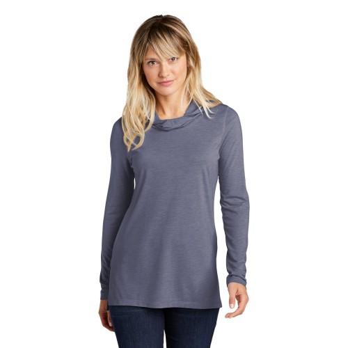 Sport-Tek ® Ladies PosiCharge ® Tri-Blend Wicking Long Sleeve Hoodie