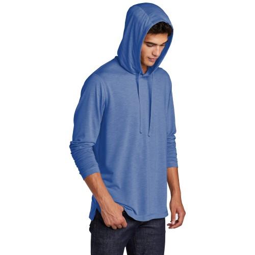 Sport-Tek ® PosiCharge ® Tri-Blend Wicking Long Sleeve Hoodie