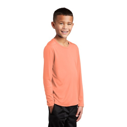 Sport-Tek ® Youth Posi-UV ™ Pro Long Sleeve Tee