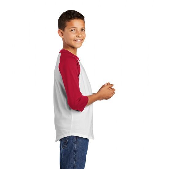 Sport-Tek® Youth Colorblock Raglan Jersey by Dufflebags.com - Luggage store - Wholesale bag - Best duffle bag - personalized duffle bag