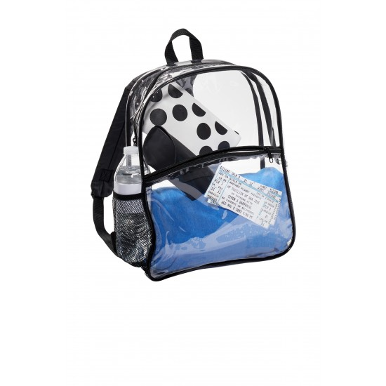 Port Authority ® Clear Backpack by Dufflebags.com - Luggage store - Wholesale bag - Best duffle bag - personalized duffle bag
