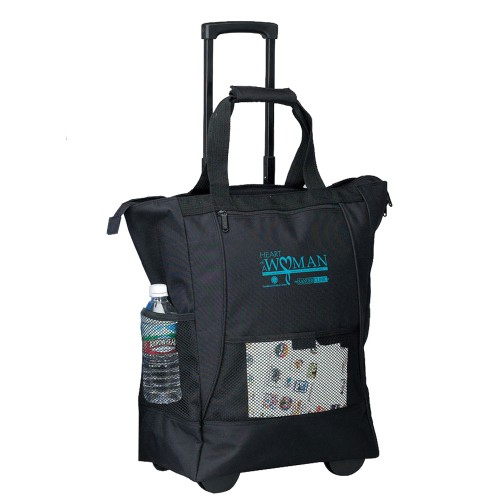 On The Go Rolling Tote