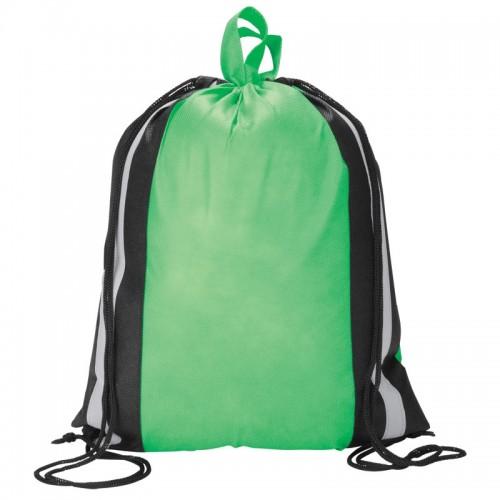 Reflective Drawstring Shopper/Sports Bag