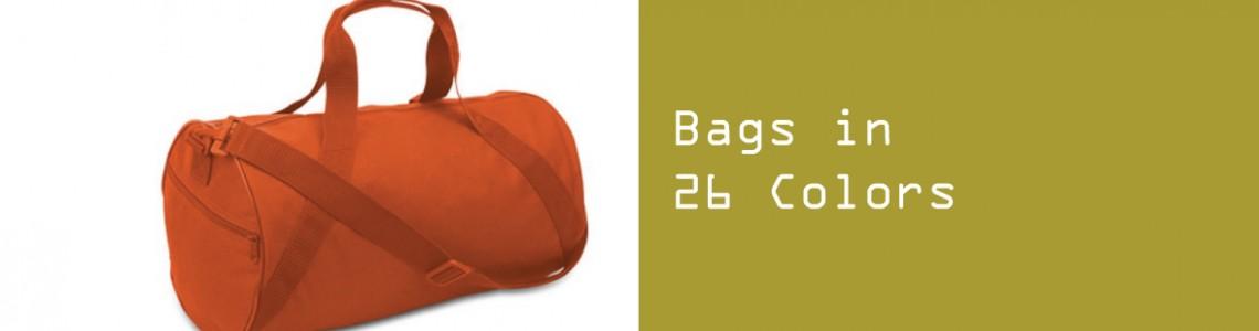 Bags in 26 Colors