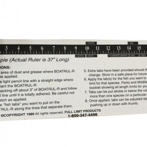 Full Limit 37 in Boat Ruler