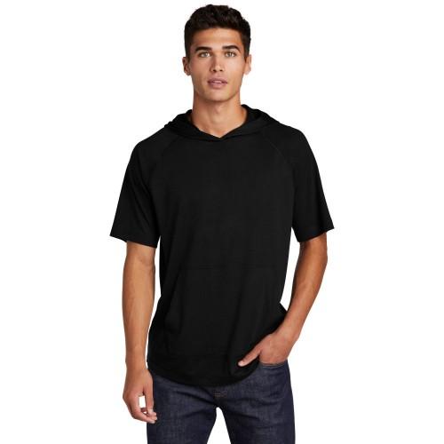 Sport-Tek ® PosiCharge ® Tri-Blend Wicking Short Sleeve Hoodie