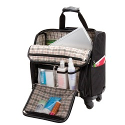 The Savvy 360 Degree Rolling Compu Weekender