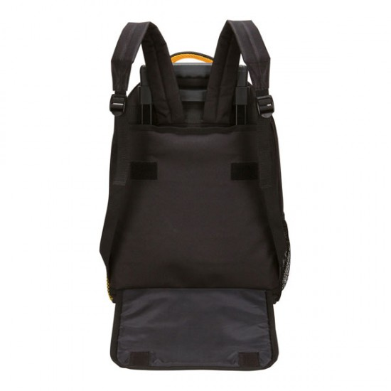 The Elevated Wheeled Computer Backpack by dufflebags