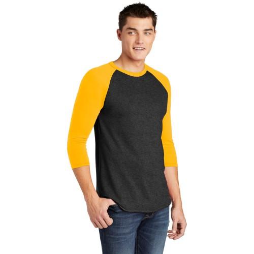 American Apparel ® Poly-Cotton 3/4-Sleeve Raglan T-Shirt