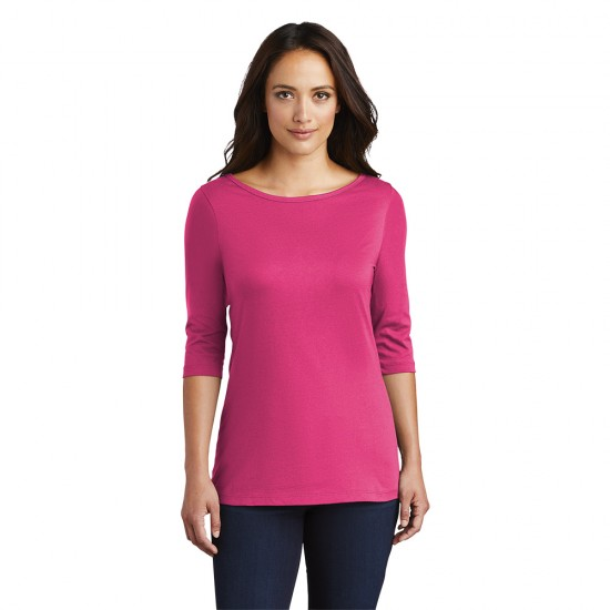 District ® Women's Perfect Weight ® 3/4-Sleeve Tee by Dufflebags.com - Luggage store - Wholesale bag - Best duffle bag - personalized duffle bag