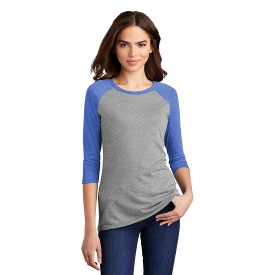 District ® Women's Perfect Tri ® 3/4-Sleeve Raglan