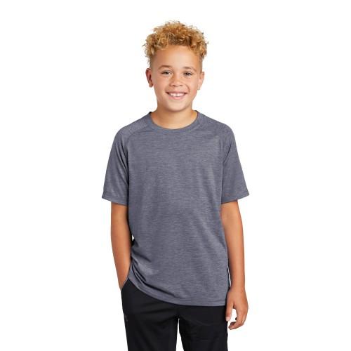 Sport-Tek ® Youth PosiCharge ® Tri-Blend Wicking Raglan Tee
