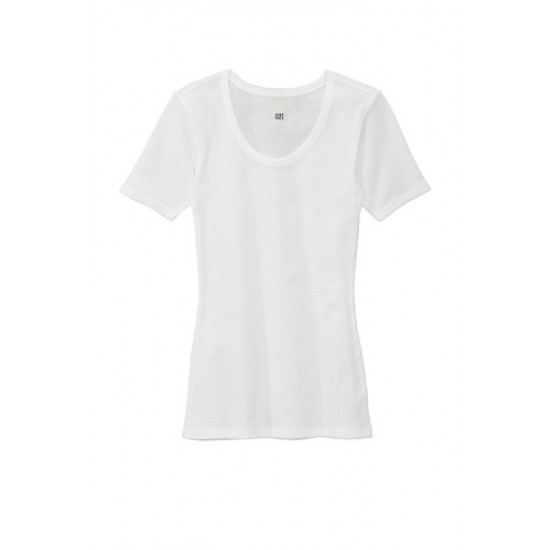 District® Women's V.I.T.™ Rib Scoop Neck Tee by Dufflebags.com - Luggage store - Wholesale bag - Best duffle bag - personalized duffle bag