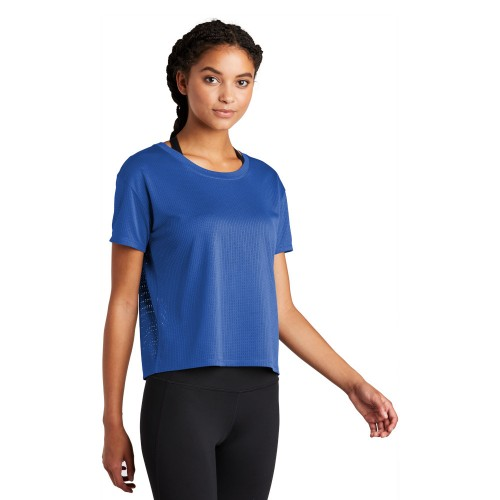 Sport-Tek ® Ladies PosiCharge® Draft Crop Tee