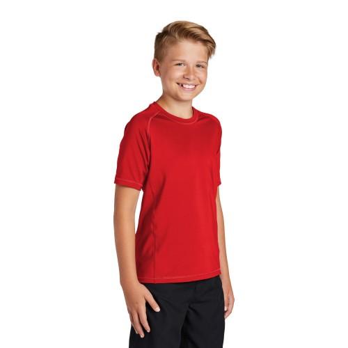 Sport-Tek ® Youth Rashguard Tee