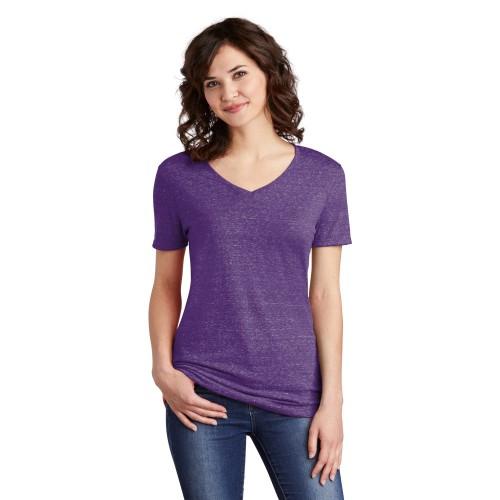 JERZEES ® Ladies Snow Heather Jersey V-Neck T-Shirt