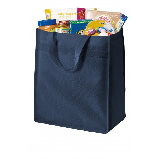Port Authority® Standard Polypropylene Grocery Tote by Dufflebags.com - Luggage store - Wholesale bag - Best duffle bag - personalized duffle bag