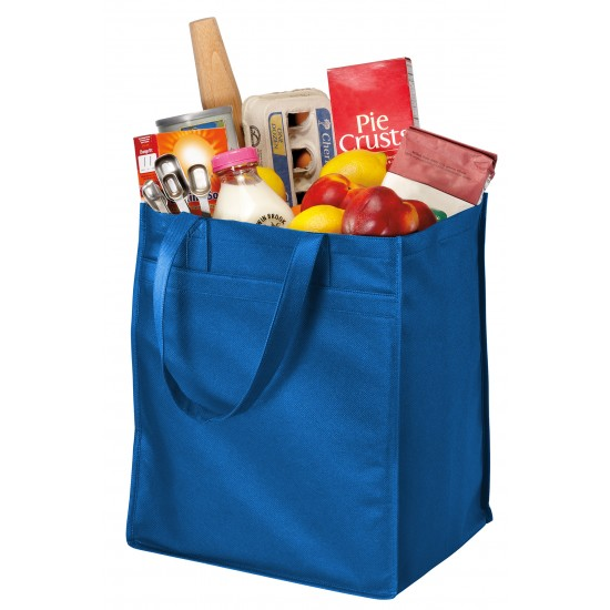 Port Authority® - Extra-Wide Polypropylene Grocery Tote by Dufflebags.com - Luggage store - Wholesale bag - Best duffle bag - personalized duffle bag