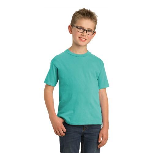 Port & Company® Youth Beach Wash™ Garment-Dye Tee