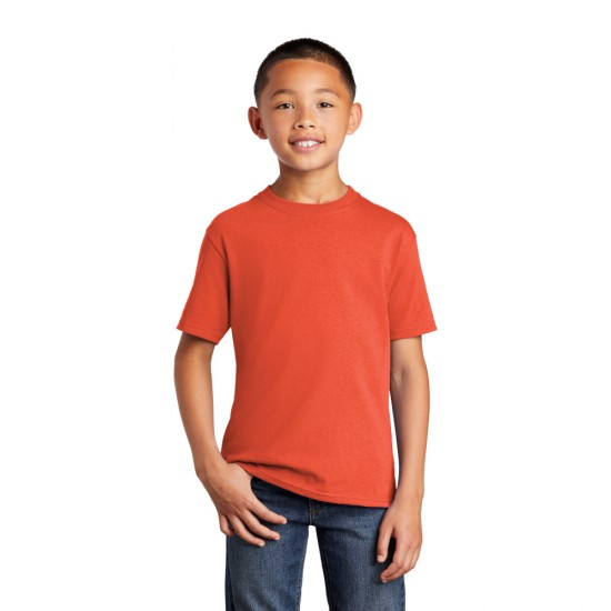 Port & Company® Youth Core Cotton Tee by Dufflebags.com - Luggage store - Wholesale bag - Best duffle bag - personalized duffle bag