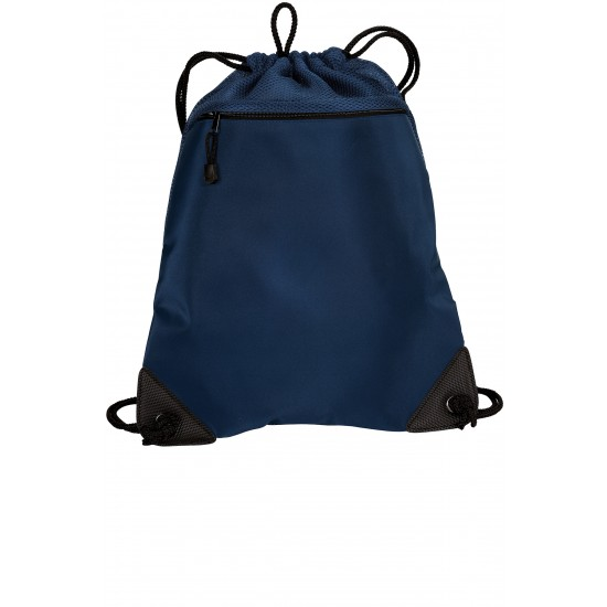 Port Authority Cinch Pack with Mesh Trim by dufflebags