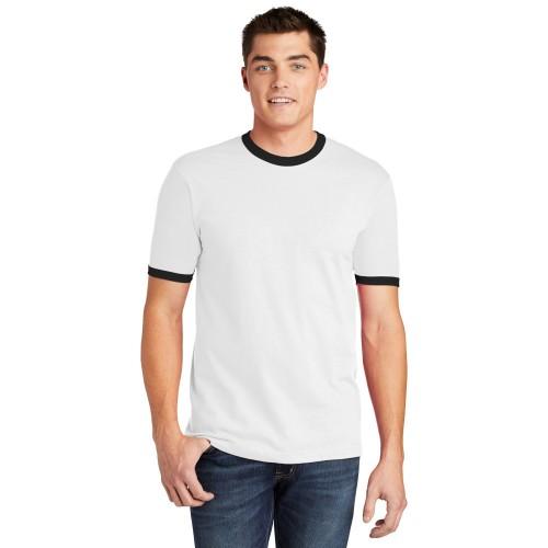 American Apparel ® Fine Jersey Ringer T-Shirt