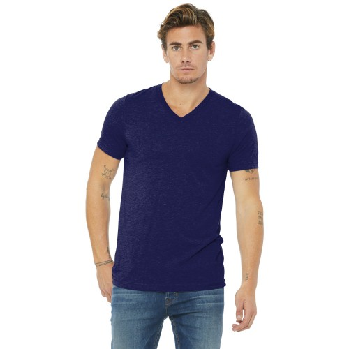 BELLA+CANVAS ® Unisex Triblend Short Sleeve V-Neck Tee