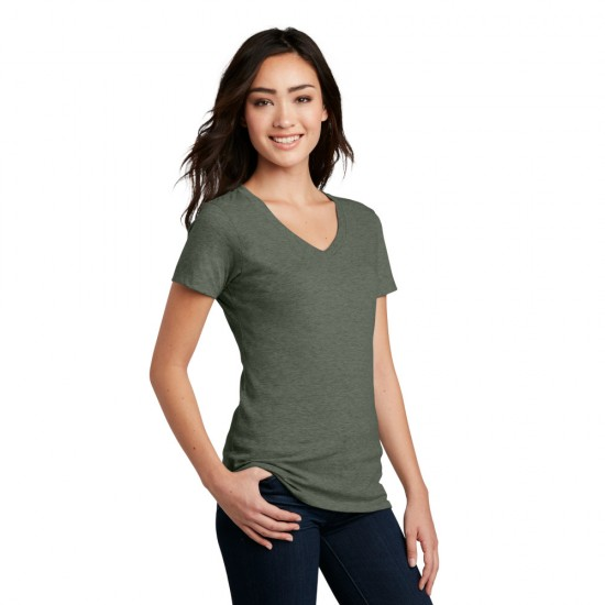 District ® Women's Perfect Blend ® V-Neck Tee by Dufflebags.com - Luggage store - Wholesale bag - Best duffle bag - personalized duffle bag