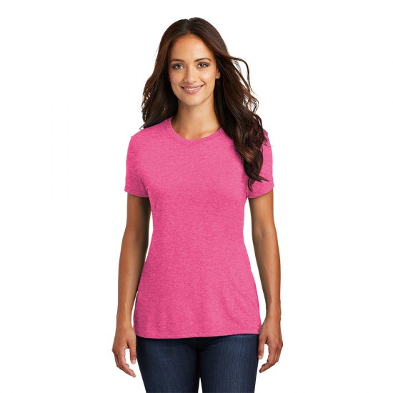 District ® Women's Perfect Tri ® Tee by Dufflebags.com - Luggage store - Wholesale bag - Best duffle bag - personalized duffle bag