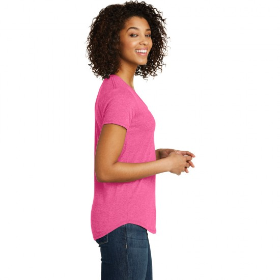 District ® Women's Fitted Very Important Tee ® Scoop Neck