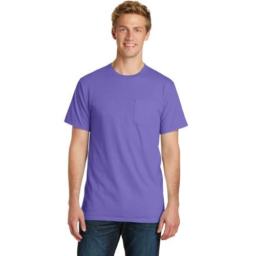 Port & Company® Beach Wash™ Garment-Dyed Pocket Tee