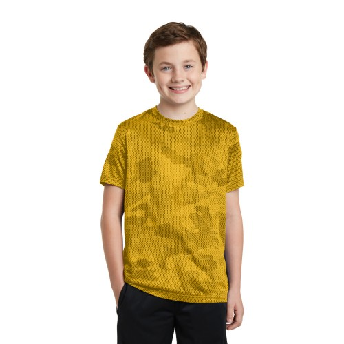 Sport-Tek® Youth CamoHex Tee