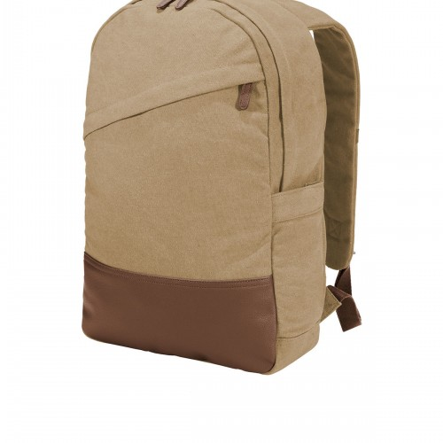 Port Authority ® Cotton Canvas Backpack