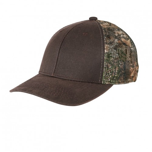Port Authority ® Pigment Print Camouflage Mesh Back Cap