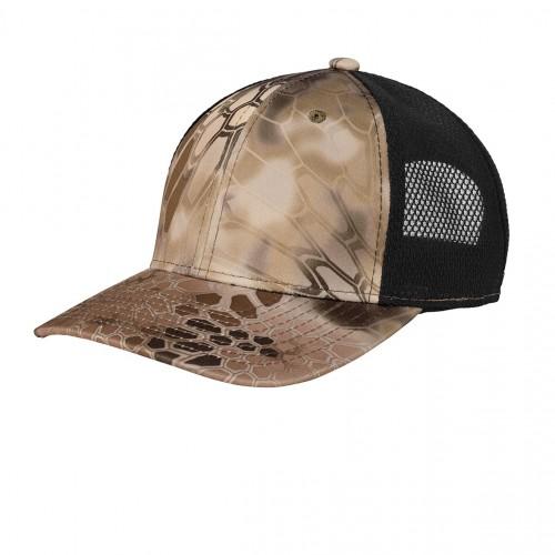 Port Authority ® Performance Camouflage Mesh Back Snapback Cap