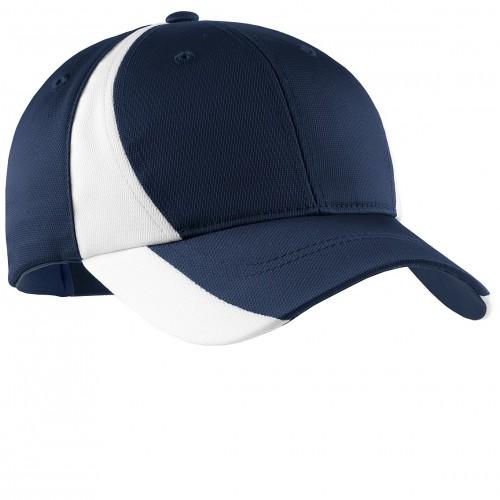 Sport-Tek® Youth Dry Zone® Nylon Colorblock Cap