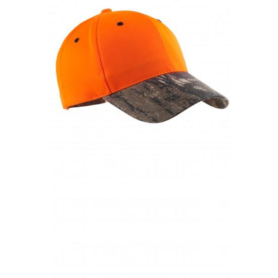 Port Authority® Enhanced Visibility Cap with Camo Brim