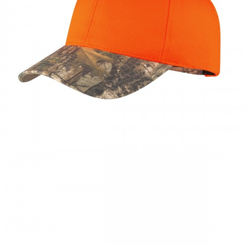 Port Authority® Enhanced Visibility Cap with Camo Brim