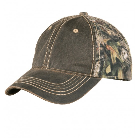 Port Authority® Pigment Print Camouflage Cap